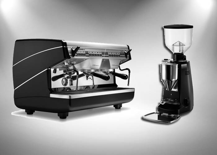 Appia 2, 2 grupper + Mazzer Major Electronic